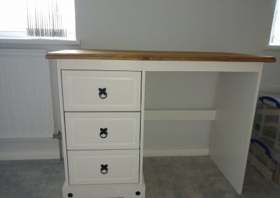 Wayfair dressing table assembly