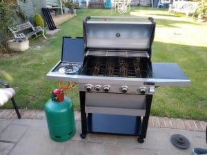Bbq grill assembly in brighton