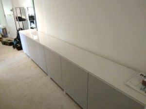 Sideboard set assembly