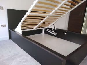 Ottoman bed assembly