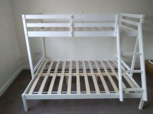 Bunk bed worthing assembly