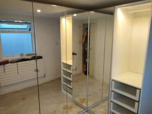 Mirrored-Pax-wardrobe-flat-pack-assembly-Worthing