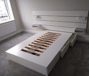 NORDLI Bed Frame assembly