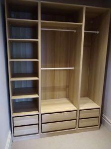 Pax wardrobe assembling