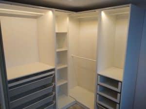 Ikea Corner Wardrobe assembly