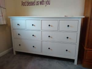 Tylor 6 Drawer Chest assembly